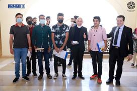 An Orientation ceremony held at Iqra University BTK Campus.