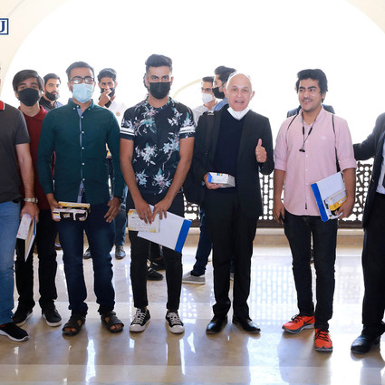 An Orientation ceremony held at Iqra University BTK Campus.