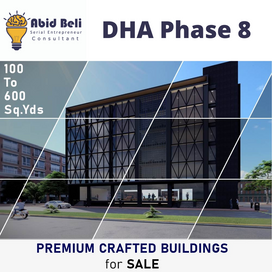 Introducing Premium Crafted buildings for Sale - DHA Phase 8