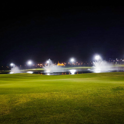 Pakistan's First Ever night-lit 36-Hole PGA Standard Golf Course