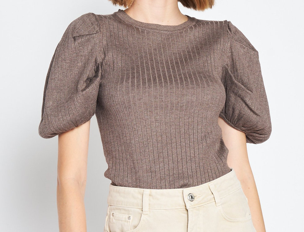Pouf Sleeve Top