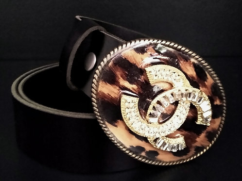 Cheetah Art Belt