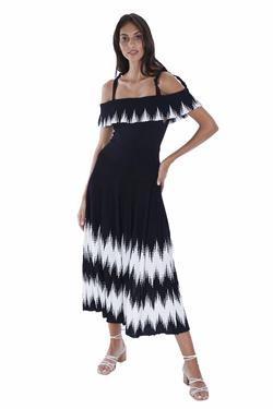ALIS-Black-knit-dress