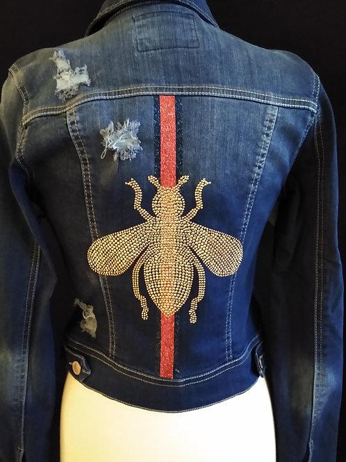 The Bee Denim Jacket