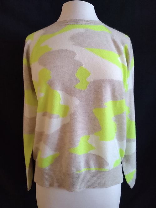 The Neon Camo Sweater