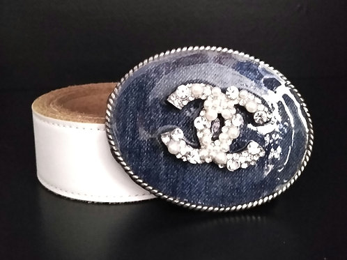 Denim Art Belt