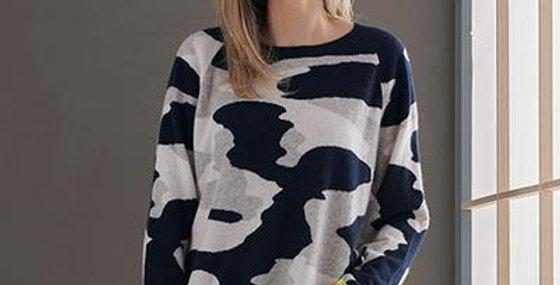 Kelly Camo Cashmere Sweater
