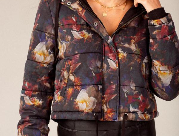 Stella Quilted Sateen Jacket