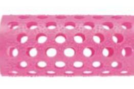 Rolos Plastico Rosa  25mm