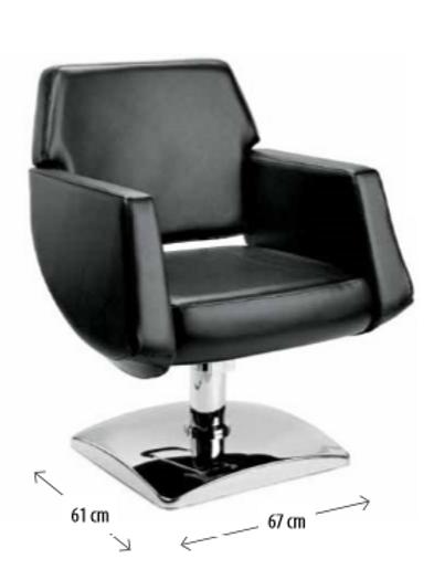 Cadeira de Cabeleireiro Modelo Elegante