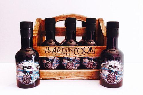 Shampoo Refrescante Captain Cook 250ml