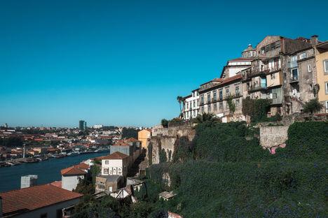 Vue de Porto depuis le Pont Luis I