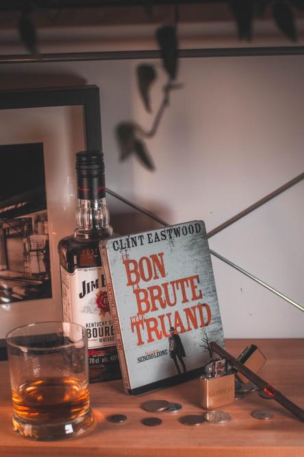 Steelbook le Bon, la Brute et le Truand Vue Haute