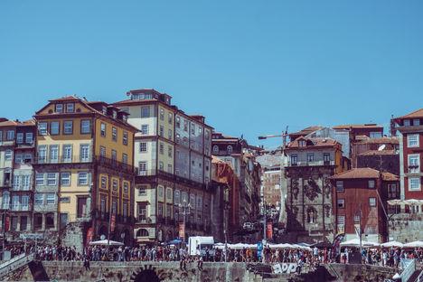 Quartier de Ribeira, estuaire du Douro