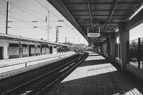 Lousago, gare