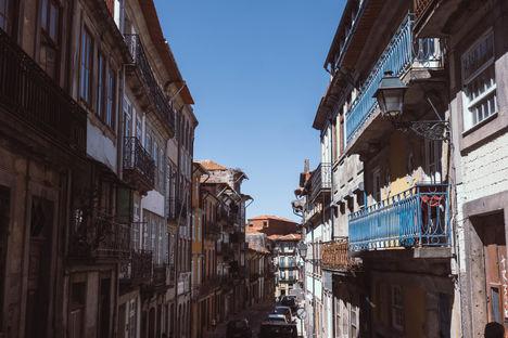 Rues hautes de Porto