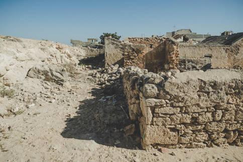 Ruines dans le Quartier