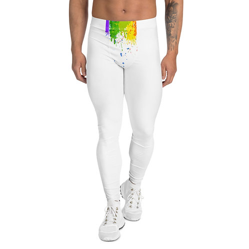 Paint Splatter Men's Leggings