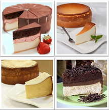 Four Flavors Cheesecake