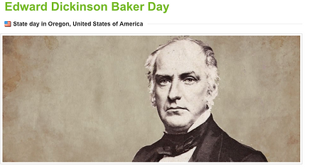 Oregon Frederick Baker Day