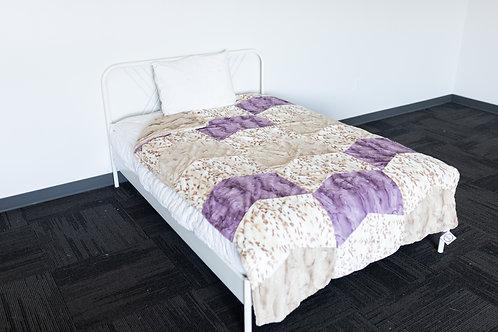 XL Diamond Patchwork Blanket