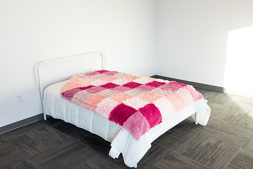 XL Patchwork Blanket