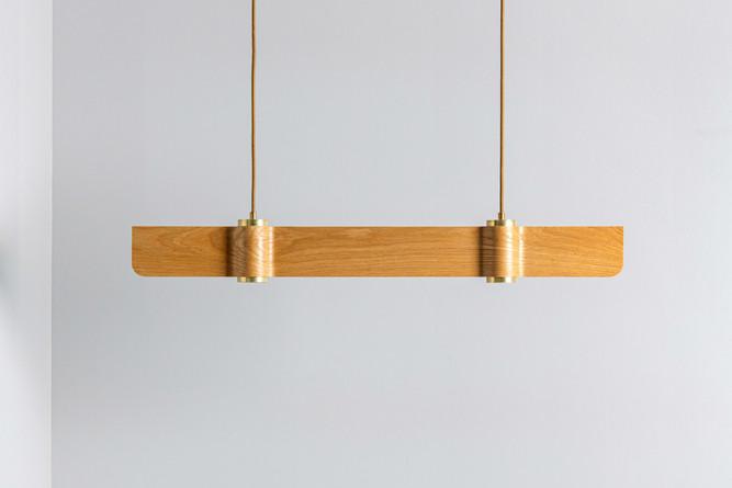 מנורת גלים אלון - T2