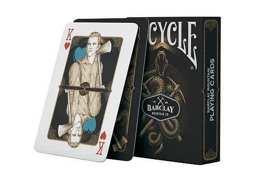 Bicycle Barclay Mountain Playing Cards