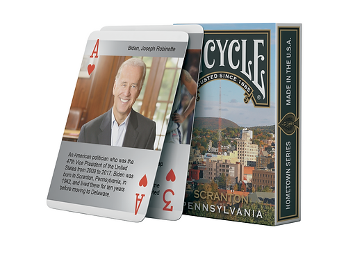 Bicycle Scranton Playing Cards