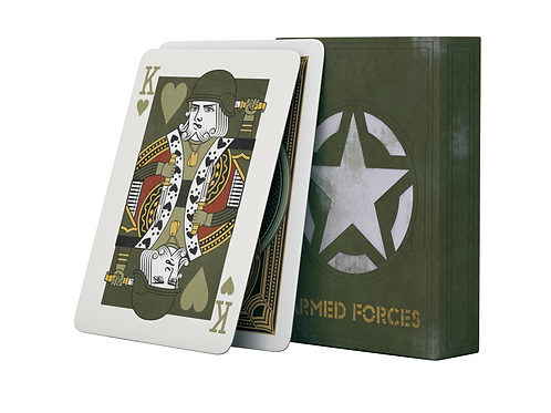 Armed Forces Playing CardsA