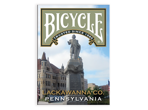 Bicycle Lackawanna County Playing Cards