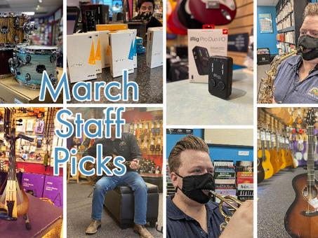 March Staff Picks 2021