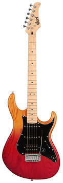Cort G200DXJSS G Series Java Sunset Electric Guitar