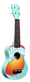 amahi tropical soprano ukulele
