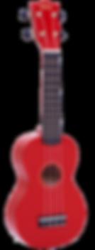 MR1RD Red Mahalo Ukulele