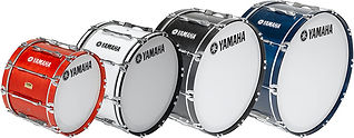 Yamaha Marching Bass Drum Line