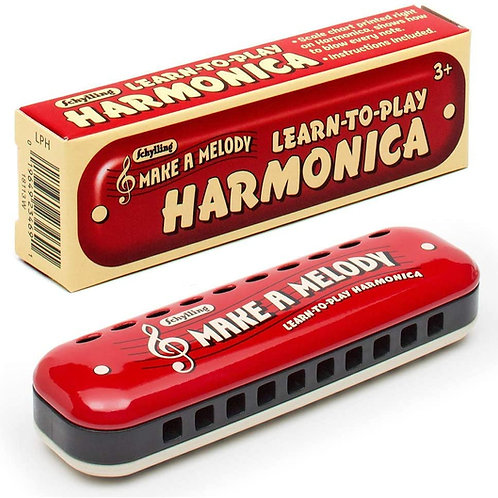 """Learn to Play"" Harmonica"