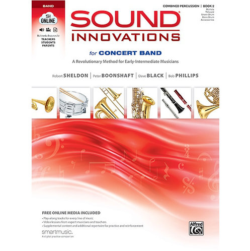 Sound Innovations For Concert Band - Percussion Bk 2