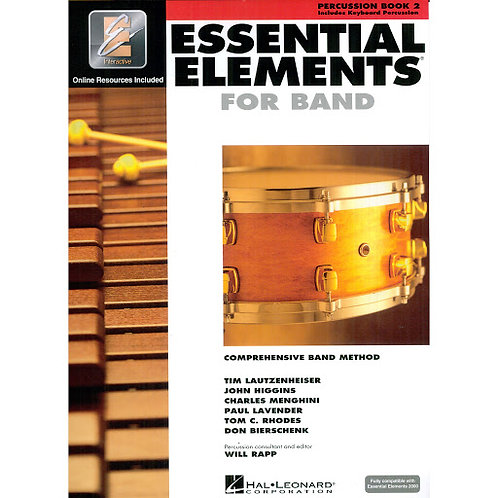 Essential Elements for Band - Percussion Bk 2