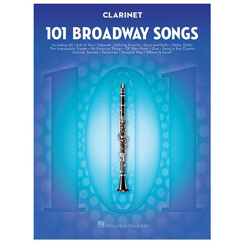 101 Broadway Songs - Woodwind