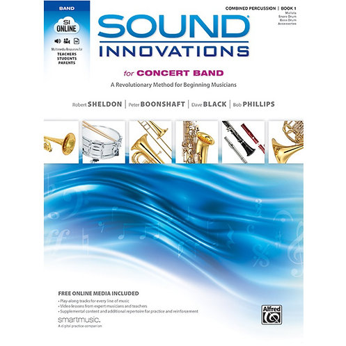 Sound Innovations for Concert Band - Percussion Bk 1