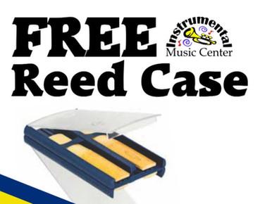 FREE Reed Case with every Vandoren Reeds Purchase #iPledgeToRotate