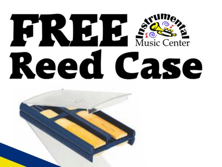 FREE Reed Case with every Vandoren Reeds Purchase #iPledgeToRotate