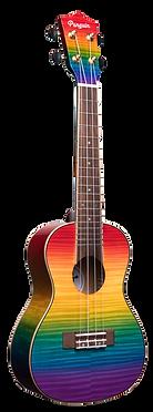 amahi PGUK555C rainbow penguin ukulele