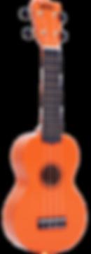 MR1OR Orange Mahalo Ukulele