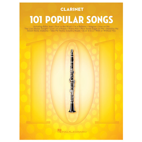 101 Popular Songs - Woodwind