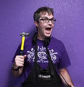 James Gunn woodwind repair technician