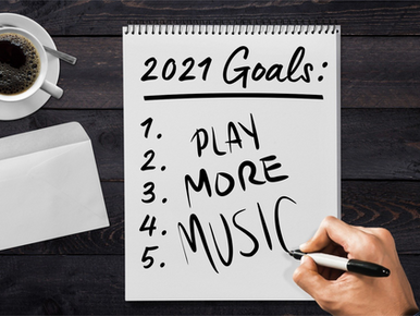 New Year's Resolutions for Musicians 2021