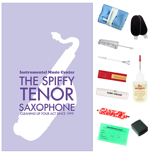 Tenor Saxophone Spiffy Kit