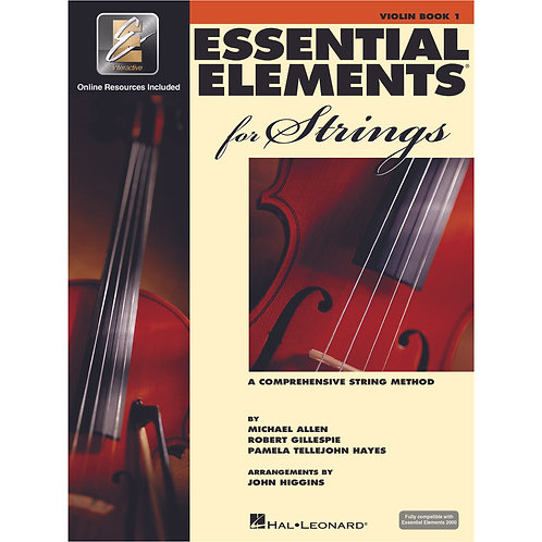 Essential Elements for Strings - Bk 1